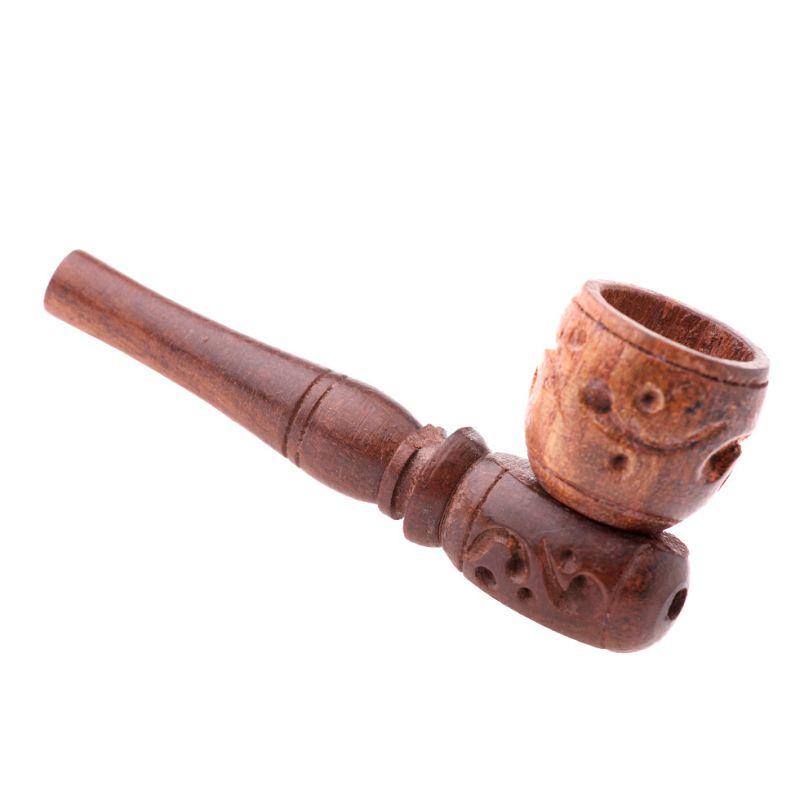 Drewniana brązowa fajka