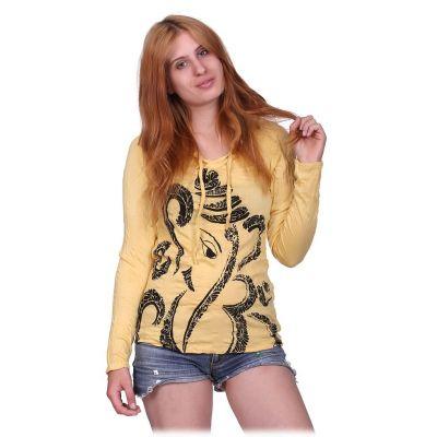 Koszulka damska Elephant Yellow
