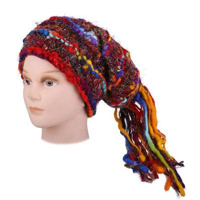 Wełniana czapka Bingung Rainbow
