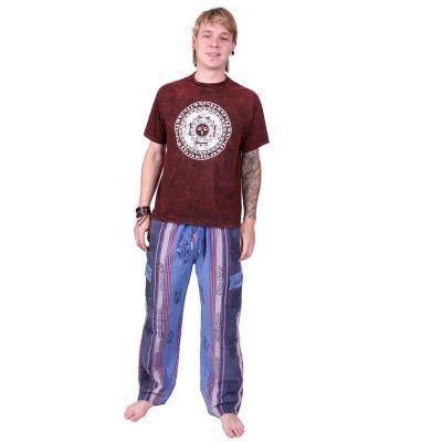 Męskie spodnie etno Gambar Blue | L, XL, XXL