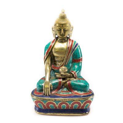 Statuetka Buddy Bhumisparsy - większa