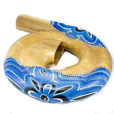 Spirala didgeridoo niebieska