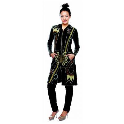 Kurtka Sadhika Hitam | S, M, L, XL