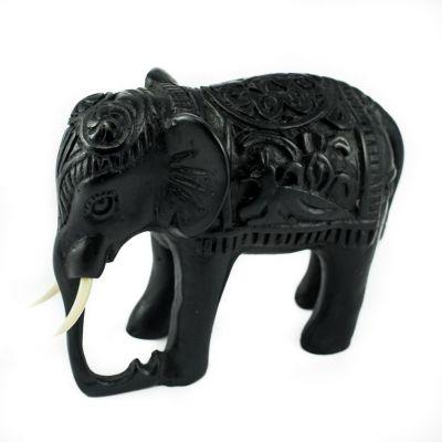 Statuetka słonia - zdobiona