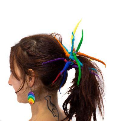 Dreads w jaskrawych kolorach