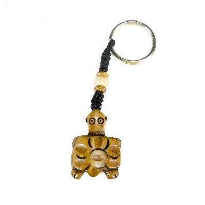 Brelok do kluczy Żółw brązowy