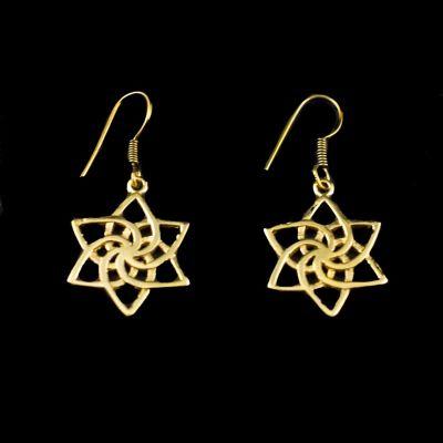 Kolczyki w kształcie gwiazdy