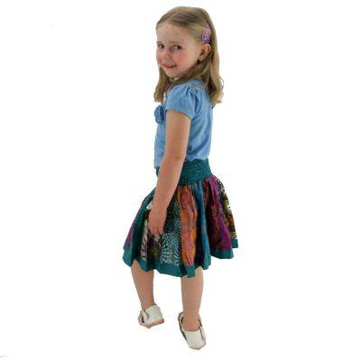 Spódnica dziecięca Karishma Turquoise