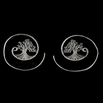 Kolczyki Drzewo 3
