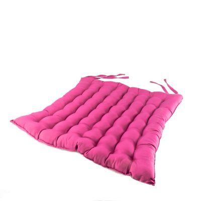 Poduszka do siedzenia w kolorze różowym