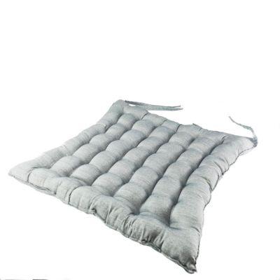 Szara poduszka do siedzenia