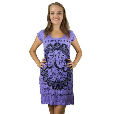 Sukienka (tunika) Jasne Ganesh Fioletowy | S, M, L, XL, XXL