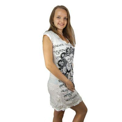 Sukienka (tunika) Jasne Ganesh White