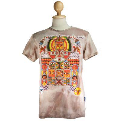 T-shirt Aztec Day&Night Brown