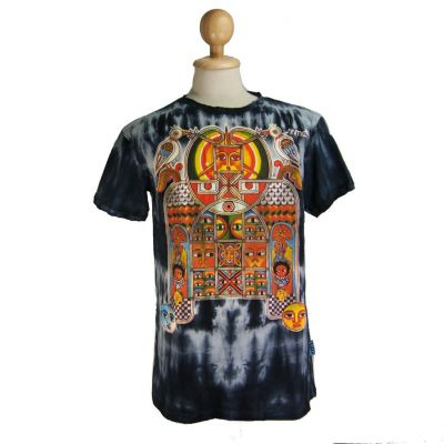 T-shirt Aztec Day & Night Czarny