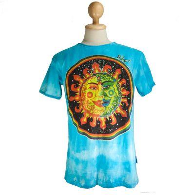 T-shirt w kolorze turkusowym Celestial Emperors