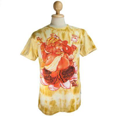 T-shirt męski Sure Ganesh on Lotus Yellow | M, L, XL