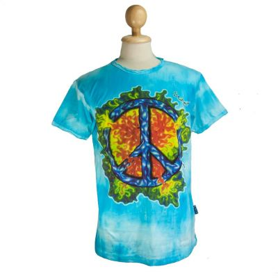 Koszulka Peace Turquoise