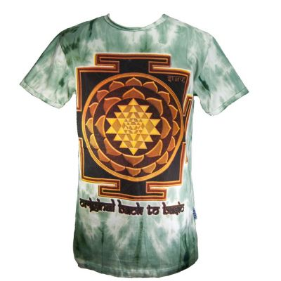 Koszulka Sri Yantra Green