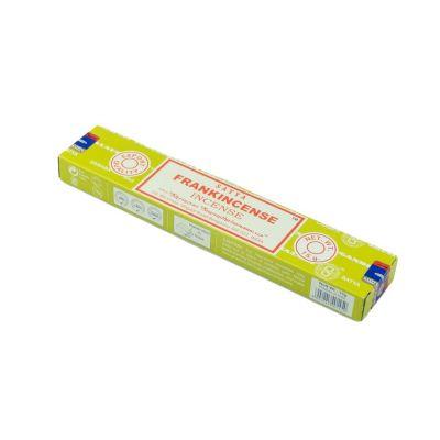 Satya Frankincense kadzidełka | Pudełko 15 g, Opakowanie zawiera 12 pudełek w cenie 10