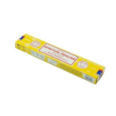 Satya Spiritual Healing kadzidełka | Pudełko 15 g, Opakowanie zawiera 12 pudełek w cenie 10