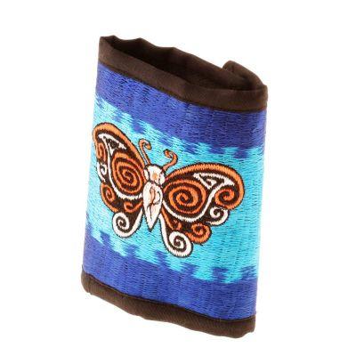 Haftowany portfel Butterfly in the sky