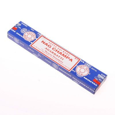 Nag Champa - kadzidełka Satya Sai Baba | Pudełko 15 g, Opakowanie zawiera 12 pudełek w cenie 10