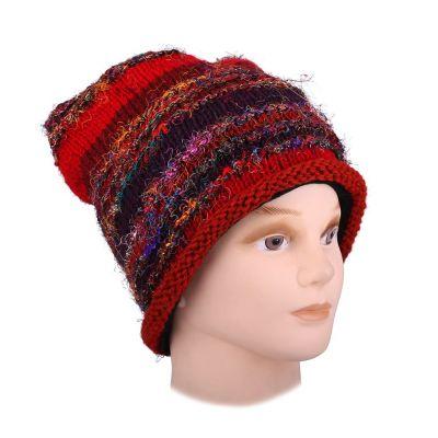 Wełniana czapka Belang Merah