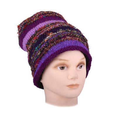 Wełniana czapka Belang Ungu
