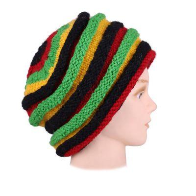 Wełniana czapka Sawah Rasta