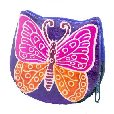 Portfel Butterfly - fioletowy