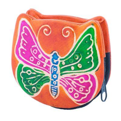 Portfel Butterfly - pomarańczowy