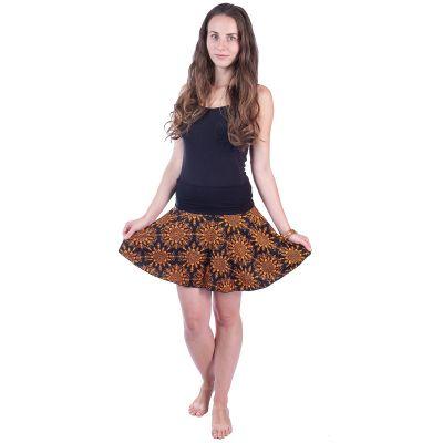 Spódnica mini na kółkach Lutut Rika | UNI (odpowiada S / M)