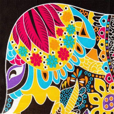 Sarong / pareo Żółty słoń Thailand