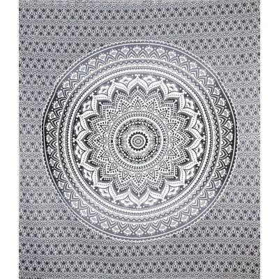 Narzuta Mandala - szara