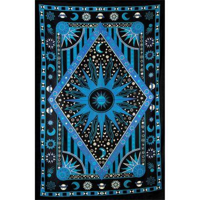 Plaid Universe - niebieski