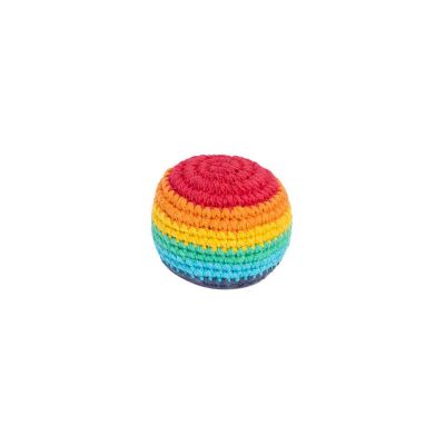 Szydełkowy haczyk kulkowy - Rainbow
