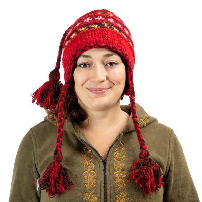 Wełniana czapka Manaslu Red