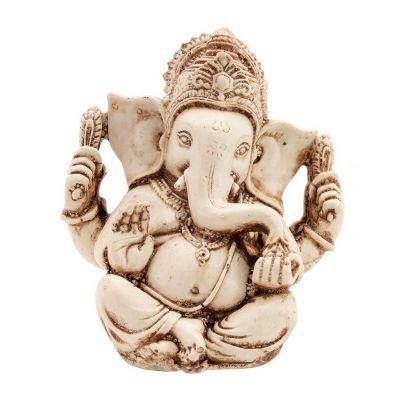 Statuetka Białej Ganesha