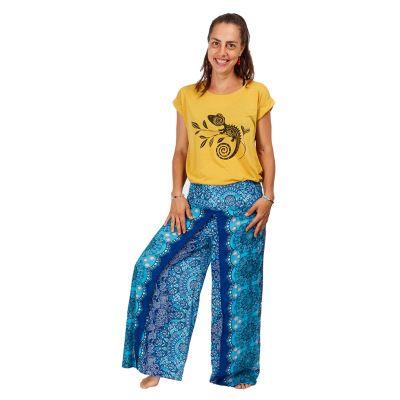 Damska koszulka z krótkim rękawem Darika Chameleon Yellow   UNI