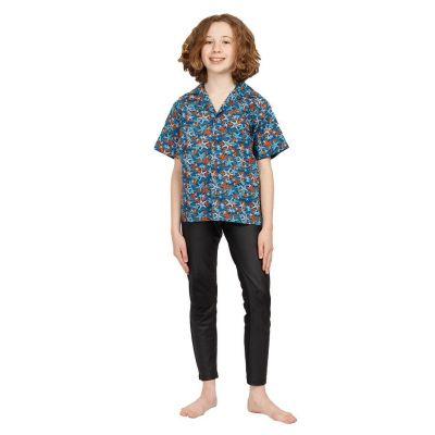 "Dziecięca ""koszula hawajska"" Blue Sea India"