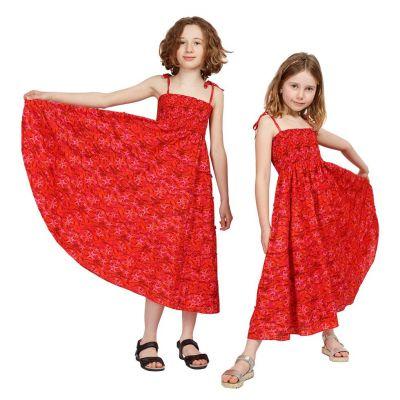 Sukienka dziecięca Mawar Red Sea | 3-4 lat, 4-6 lat, 8-10 lat, 10-12 lat, 12-14 lat