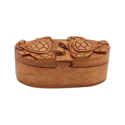 Pudełko na biżuterię Dwa żółwie