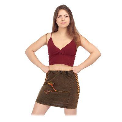 Spódnica mini w stylu etnicznym Jagatee Terbit | S/M, L/XL