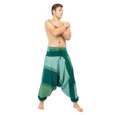 Spodnie Telur zielone