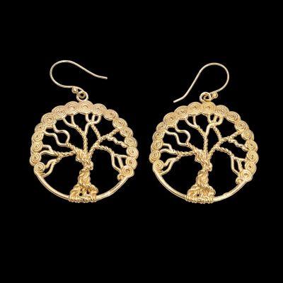 Kolczyki Drzewo Życia