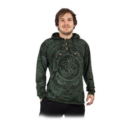 Męska trykotowa bluza z kapturem Baskar Hijau | S, M, L, XL, XXL, XXXL