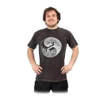 Koszulka Yin&Yang Tree Black