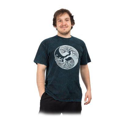 Koszulka Yin&Yang Tree Blue