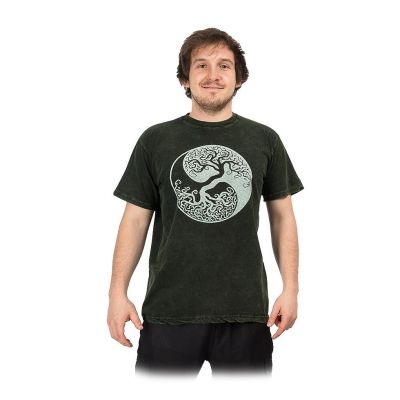 Koszulka Yin&Yang Tree Green